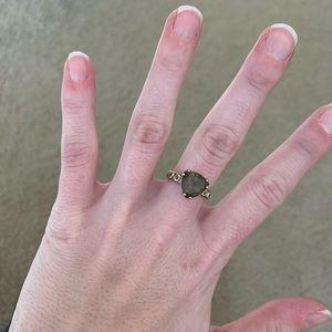 Pandora Smokey Quartz Ring